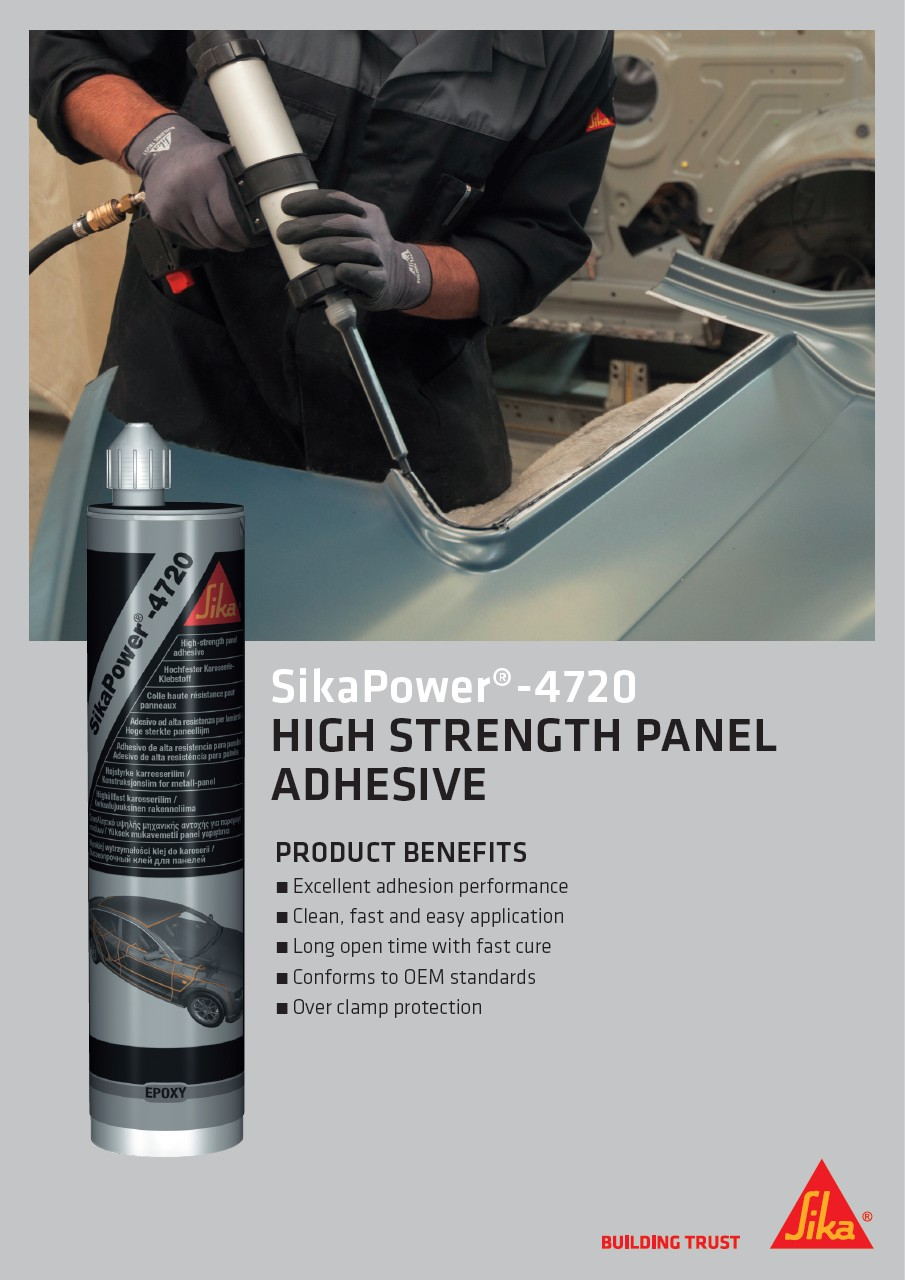 SikaPower®-4720 - High Strength Panel Adhesive